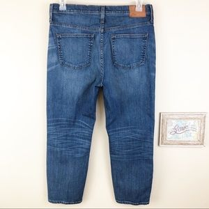 J. Crew Jeans - J Crew High Rise Crop Straight Leg Denim Jeans 31